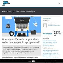 Opération #Wallcode. Apprendre à coder pour ne pas être programmé !
