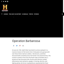6.Operation Barbarossa