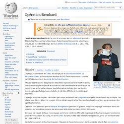 Opération Bernhard