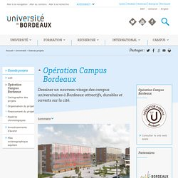 Opération Campus Bordeaux
