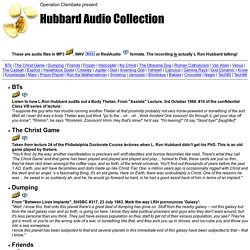 Operation Clambake present: Hubbard Audio Collection