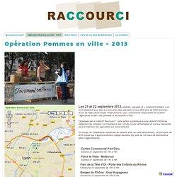 Opération Pommes en ville - 2013 - Collectif Raccourci
