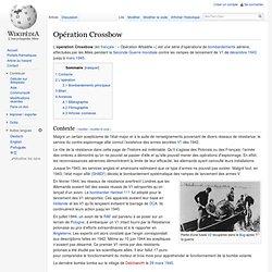 Opération Crossbow