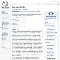 Operation Merlin