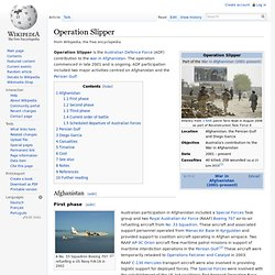 Operation Slipper