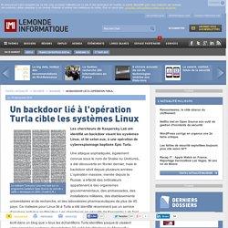 10/12/14 - Un backdoor lié à l'opération Turla cible les systèmes Linux