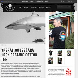 OPERATION JEEDARA 100% ORGANIC COTTON TEE