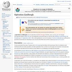 Opération Lindbergh