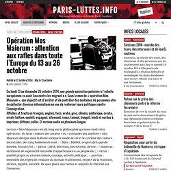Opération Mos Maiorum : attention aux rafles dans toute l'Europe du 13 au 26 octobre