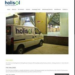 100 % COD Last Mile Operation Design & Set Up for A Beauty Product Company - Holisol Logistics
