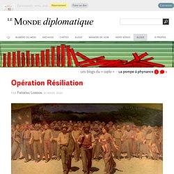 Opération Résiliation, par Frédéric Lordon (Les blogs du Diplo, 31 mars 2020)