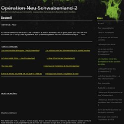 Opération Neu Schwabenland 2 - Accueil