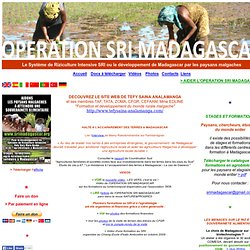 OPERATION SRI MADAGASCAR