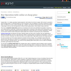 Buy Operation table online at cheap price