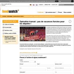Opération transat : mobilisez votre député contre CETA et TAFTA !