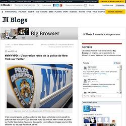#MYNYPD – L'opération ratée de la police de New York sur Twitter