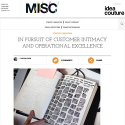In Pursuit of Customer Intimacy and Operational Excellence