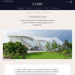 L'entreprise LVMH - Modèle opérationnel et fonctionnement