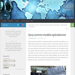 Zara comme modèle opérationnel