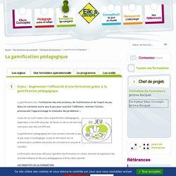 La gamification pédagogique - Formation opérationnelle et ludique - Eikos Concepts le spécialiste des formations participatives, actives et ludiques