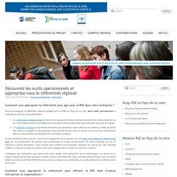 Découvrez les outils opérationnels et appropriez-vous le référentiel régional partagé pour la RSE! - Démarche partagée RSE en Pays de la Loire