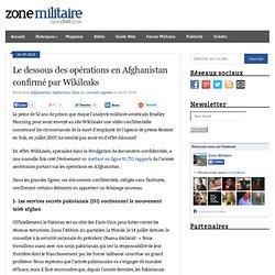 Le dessous des opérations en Afghanistan révélé par Wikileaks