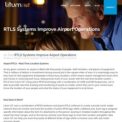 RTLS Systems Improve Airport Operations