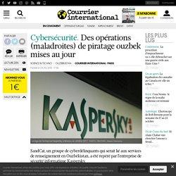 Des opérations (maladroites) de piratage ouzbek mises au jour