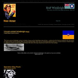 USAFF RAF Winkleigh guerre mondiale 2 Seconde Guerre mondiale - 74 Service Group États-Unis Army Air force