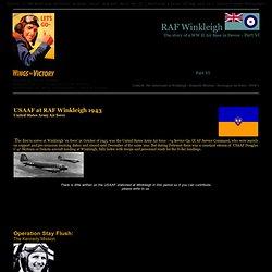 USAFF RAF Winkleigh guerre mondiale 2 Seconde Guerre mondiale - 74 Service Group États-Unis Army Air force