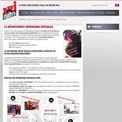 NRJ Global Régions - Publicité hors média