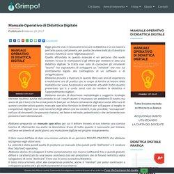 Manuale Operativo di Didattica Digitale - GRIMPO!
