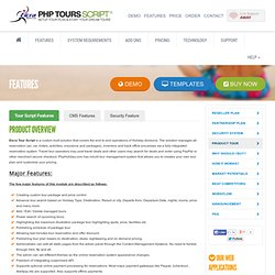 Tour Operator Software - Tourism Tour online Reservation , Tourism Tour script