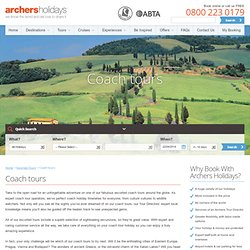Coach Tours: Archers Holidays