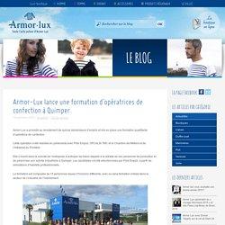 Armor-Lux lance une formation d'opératrices de confection à Quimper - Le blog Armor-Lux