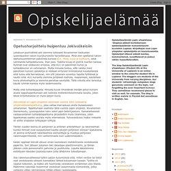 Opiskelijaelämää Lapin yliopistossa / Student life at the University of Lapland: Opetusharjoittelu huipentuu Jokivalkeisiin