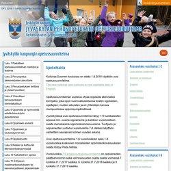 Jyväskylän perusopetuksen opetussuunnitelma – Jyväskylän kaupungin opetussuunnitelma