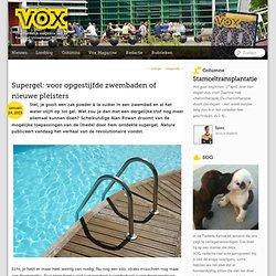 Supergel: voor opgestijfde zwembaden of nieuwe pleisters