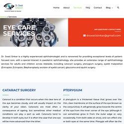 Dr Swati Sinkar - Ophthalmology Eye Care Services