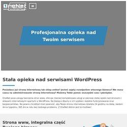 Stała opieka nad stronami Wordpress - Onenet Admin