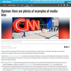 Opinion: Here are plenty of examples of media bias - Gainesville Times