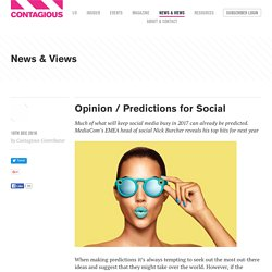 Opinion / Predictions for Social