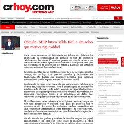 Opinión: MEP busca salida fácil a situación que merece rigurosidad