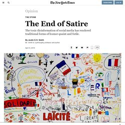 The End of Satire
