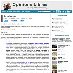 Opinions Libres, le blog d'Olivier Ezratty
