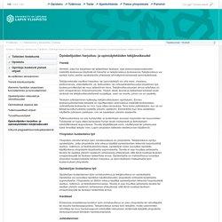 Opiskelijoiden harjoitus- ja opinnäytetöiden tekijänoikeudet