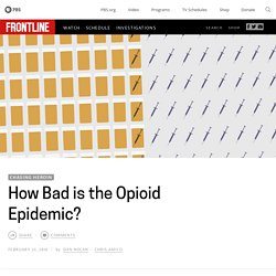 How Bad is the Opioid Epidemic?