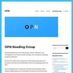 OPN Reading Group – OPN