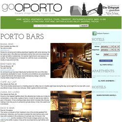 OPORTO BARS - Bars in Porto, Portugal