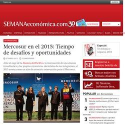 Mercosur en el 2015: Tiempo de desafíos y oportunidades